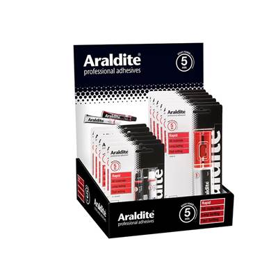 Araldite® Araldite Rapid Promo Counter Display