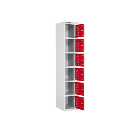 Image for PowerStation™ 6 Door Charging Locker 300 x 450 x 1800mm