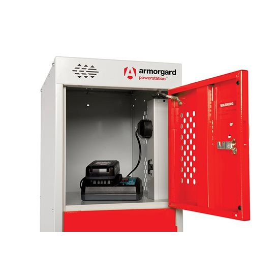 additional image for PowerStation™ 6 Door Charging Locker 300 x 450 x 1800mm