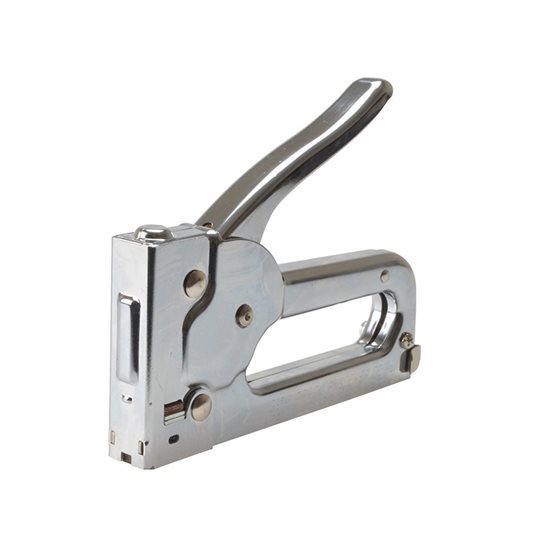 Image for JT21C Staple Gun Tacker - Chrome