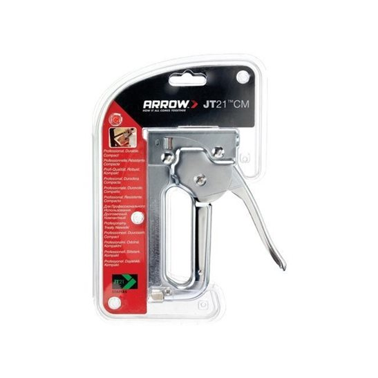 additional image for JT21C Staple Gun Tacker - Chrome