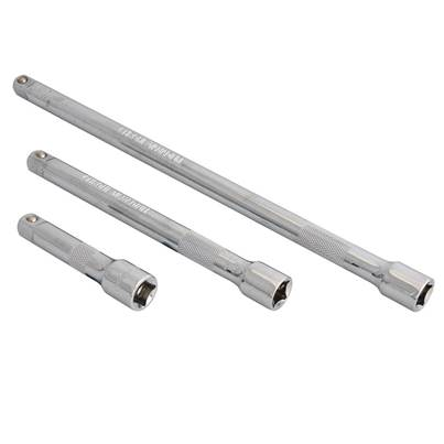 BlueSpot Tools 3/8in Square Drive CV Extension Bar Set 3 Piece