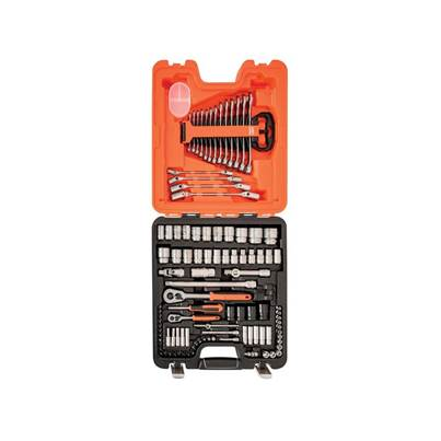 Bahco S106 Socket & Spanner Set of 106 AF & Metric 1/4 & 1/2in Drive