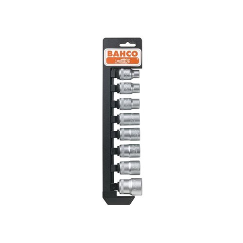 Bahco S17SP Socket Set of 16 Metric + Rail 1/2in Drive