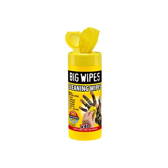 Image for Industrial Multi-Purpose Wipes (Tub 40)