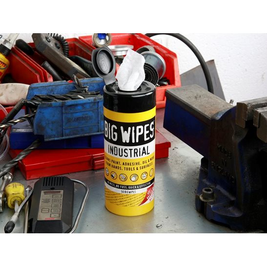 additional image for Industrial Multi-Purpose Wipes (Tub 40)