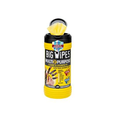 Big Wipes 4x4 Multi-Purpose Cleaning Wipes