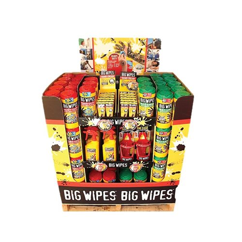 Big Wipes Big Wipes Mixed Merchandiser