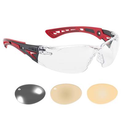 Bolle Safety RUSH+ PLATINUM® Safety Glasses