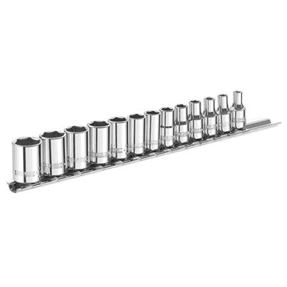 Expert Socket Set of 13 Metric 1/4in Drive