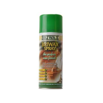Briwax Spray Wax Aerosol 400ml