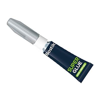 Bostik Super Glue Non-Drip Gel Tube 3g