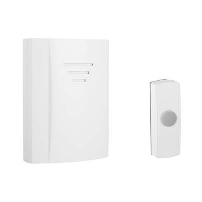 Byron B304 Wireless Doorbell with Portable Chime 50m