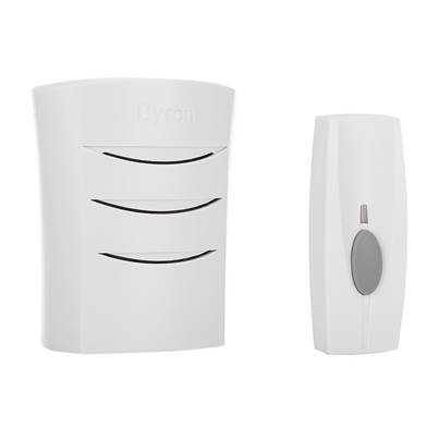 Byron BY10 Series Wireless Door Chime Kit