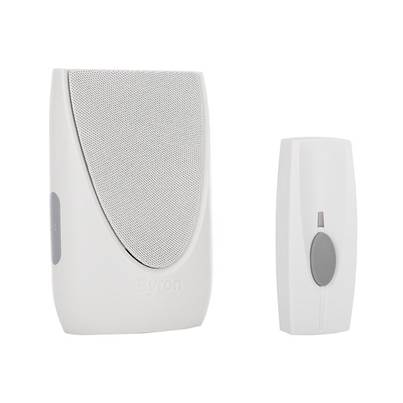 Byron BY202 Wireless Doorbell with Plug In Chime 100m