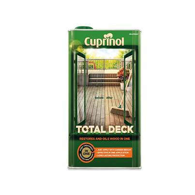Cuprinol Total Deck Restore & Oil Wood Clear