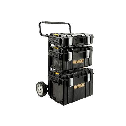 DEWALT TOUGHSYSTEM™ 4-in-1 Trolley & 3 DS Toolboxes