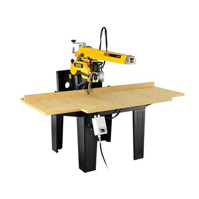 DEWALT DW729KN Radial 3 Phase Arm Saw 350mm 4000W 240V