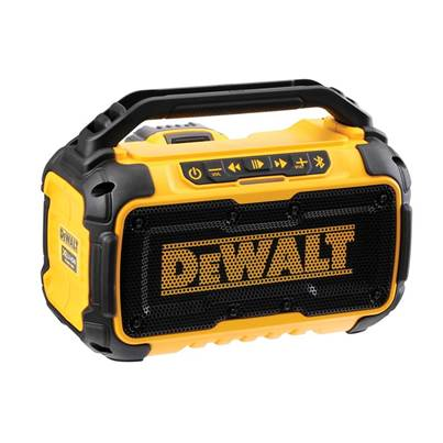 DEWALT DCR011 Bluetooth® Speaker 10.8-54V Bare Unit