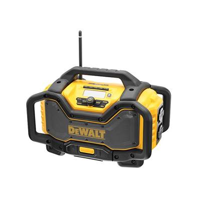 DEWALT DCR027 FlexVolt XR Radio Charger 240V & Li-Ion Bare Unit