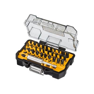 DEWALT Display of 12 Flex Torque Impact Bit Sets, 32 Piece