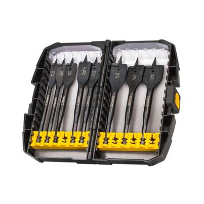 DEWALT Extreme Flat Bit Set of 8 In Tough Case