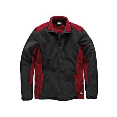 Dickies Two Tone Red/Black Micro Fleece