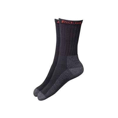 Dickies Industrial Work Socks, Black (Pack 2)