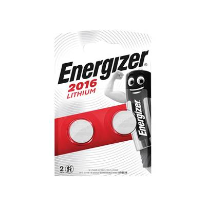 Energizer® CR2016 Coin Lithium Battery