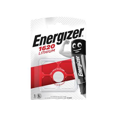 Energizer® CR1620 Coin Lithium Battery Single