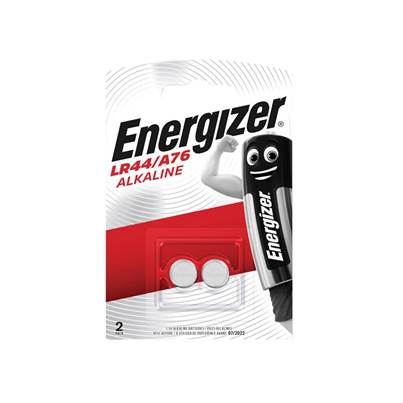 Energizer® LR44 Coin Alkaline Batteries Pack of 2