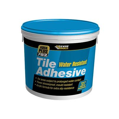 Everbuild 702 Water Resist Tile Adhesive