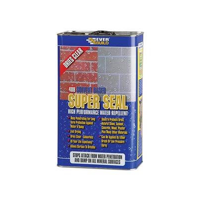 Everbuild 408 Super Seal (Exterior Wall Seal) 5 Litre