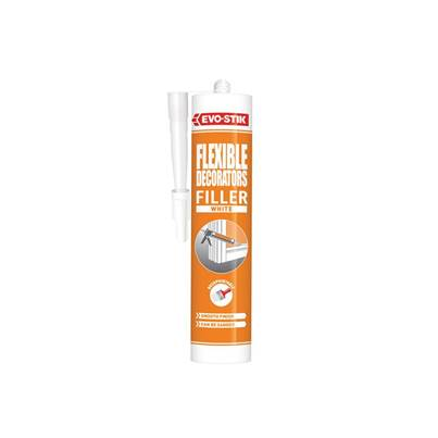 Evo-Stik Decorator's Flexible Acrylic Filler - White C20