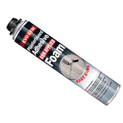 Evo-Stik Plasterboard Adhesive Foam Gun Applied 750ml