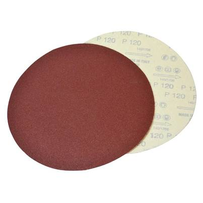 Faithfull Plain Dry Wall Sanding Discs 225mm Assorted (Pack 10)
