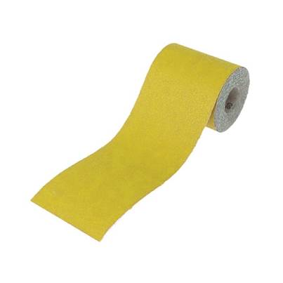 Faithfull 115mm Yellow Aluminium Oxide Paper Roll