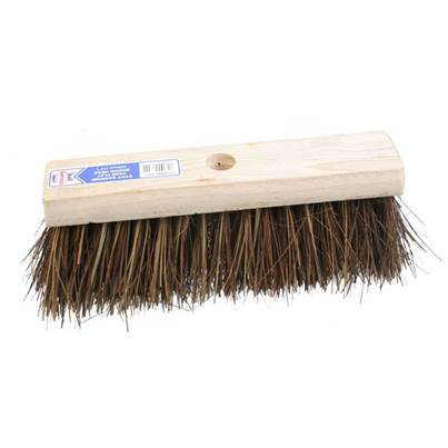 Faithfull Flat Broom Stiff Bassine / Cane 325mm (13in)