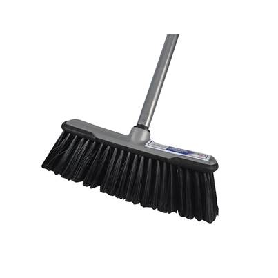 Faithfull Soft Broom with Screw On Handle 30cm (12in)