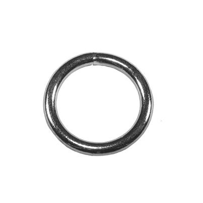 Faithfull Zinc Plated Welded Rings 6mm (Pack of 4)