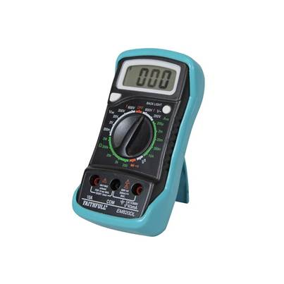 Faithfull Multimeter LCD Display
