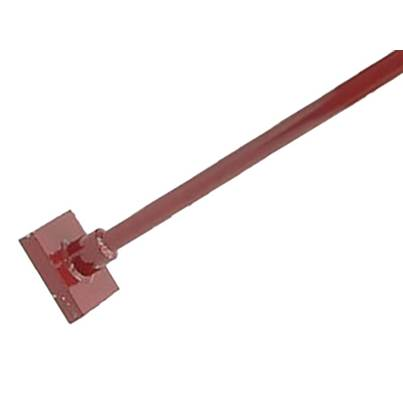 Faithfull Earth Rammer With Metal Shaft 4.5kg (10lb)
