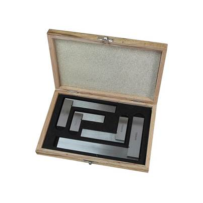 Faithfull Engineer's Squares Set, 4 Piece (50, 75, 100, 150mm)