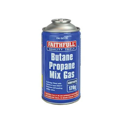 Faithfull Butane Propane Gas Cartridge