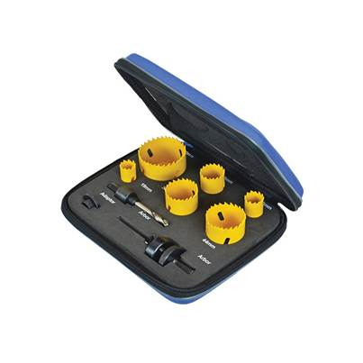 Faithfull Professional Holesaw Set 9 Piece