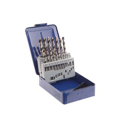 Faithfull HSS PRO Drill Sets in Metal Cases