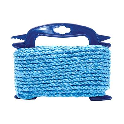 Faithfull Blue Poly Rope on Hanger