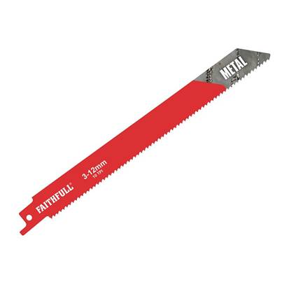 Faithfull BIM Metal Cutting Sabre Saw Blades