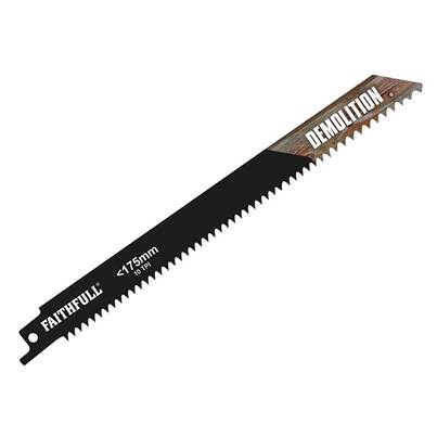 Faithfull Bi-Metal Demolition Sabre Saw Blades