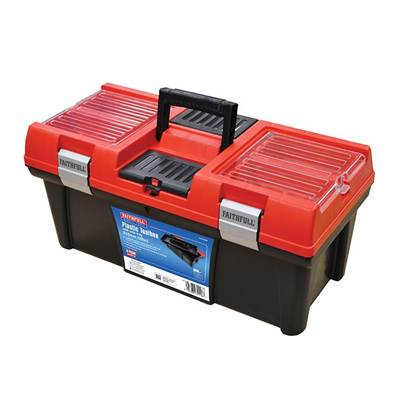 Faithfull Organiser Lid Toolbox 51cm (20in)